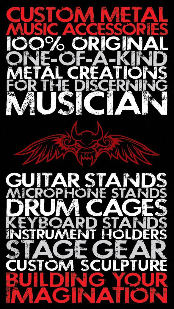 Raw Metal Edge Logo Business Card Design Clarkallen Com
