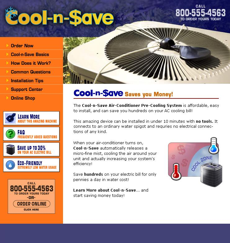 Mist Ac Unit : Cool n save air conditioner pre cooling system