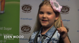 Eden Wood of Little Rascals for Kelly's Delight All-Natural Liquid Sugar