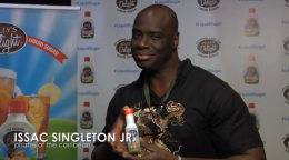 Isaac Singleton, Jr. of Pirates of the Caribbean for Kelly's Delight All-Natural Liquid Sugar
