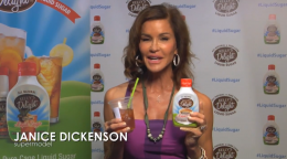 Janice Dickenson for Kelly's Delight All-Natural Liquid Sugar